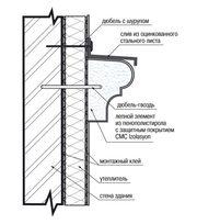 Монтаж декоров и термопанелей с эластичной шпатлевкой PS-TechnoPlaster